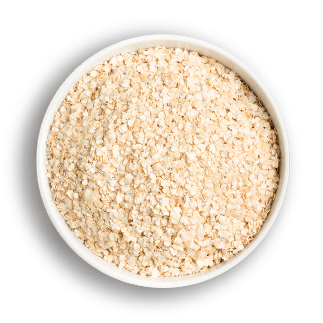 Quinoa Flakes (Instant and Raw)