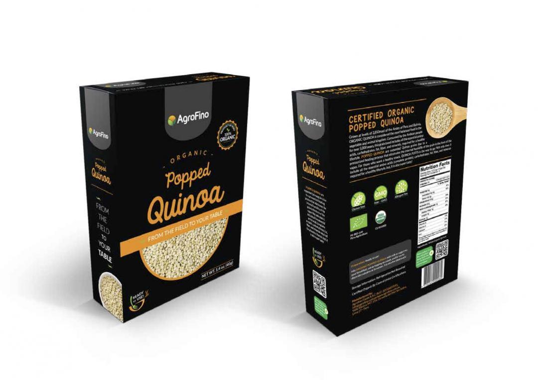 Quinoa Pop Organic