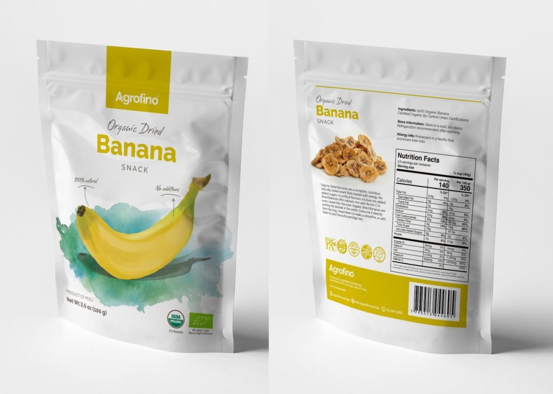Dried Banana Organic