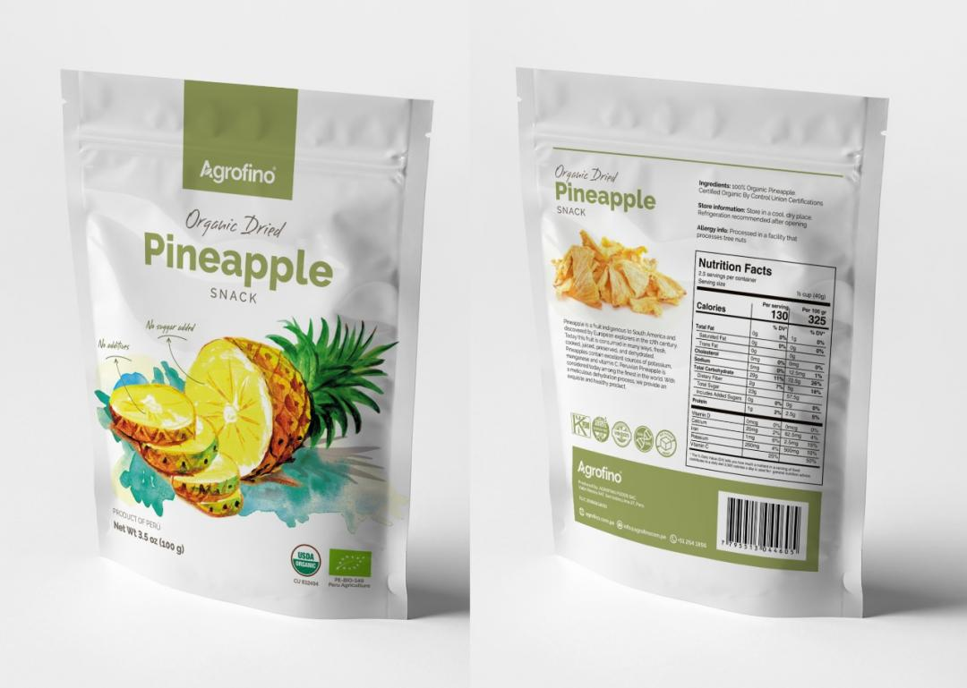 Dried Pineapple Organic