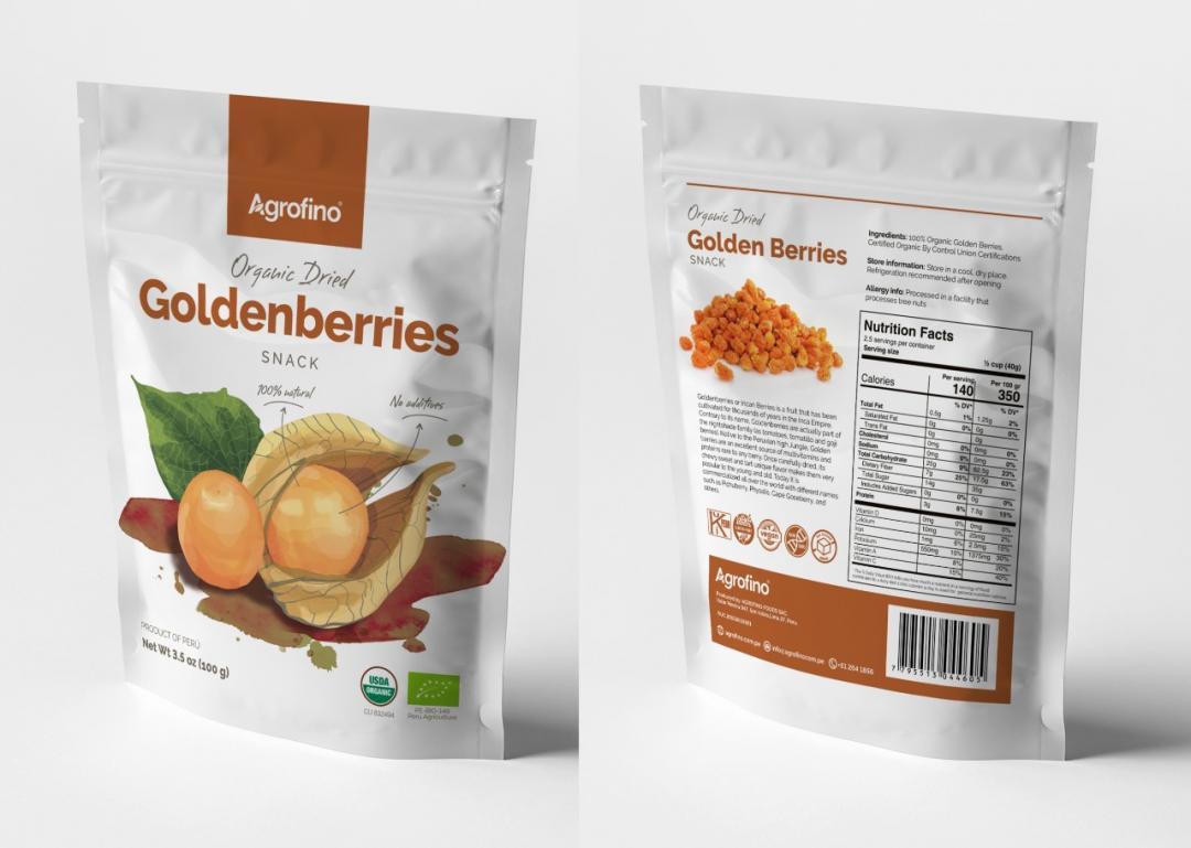 Dried Goldenberries Organic